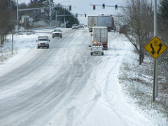 icy roads lancaster county
